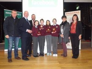 Co Down Schools qualify for ni road safety quiz