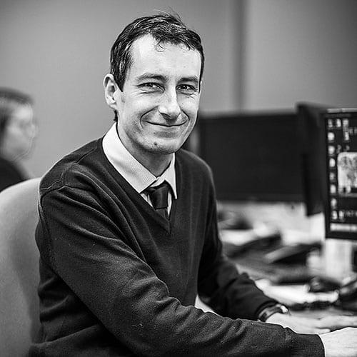 Graeme McAllister IT Team at CRASH Services