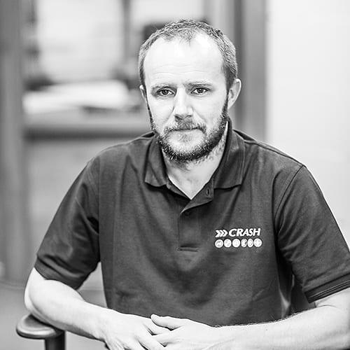 Joseph Murphy IT Team at crash services