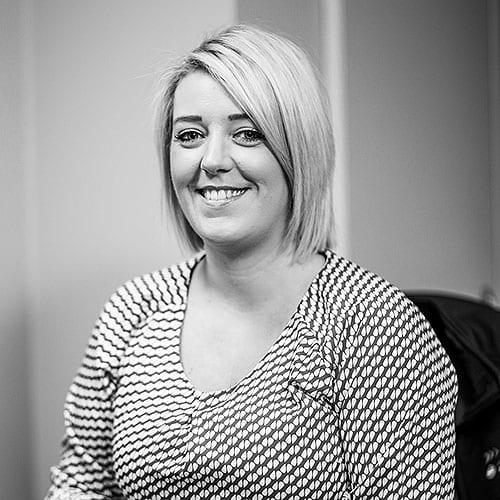 Mairead Morgan senior claims handler at crash services