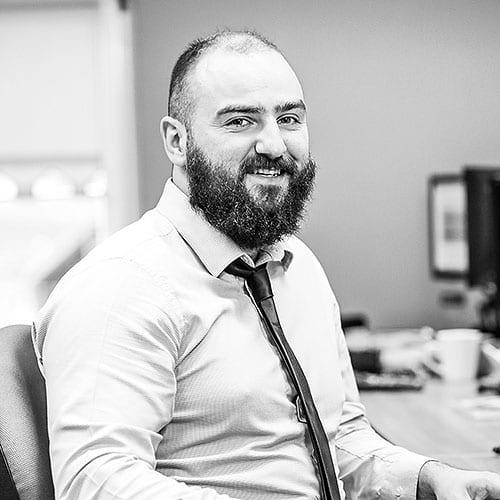 Chris Harte accounts team crash services