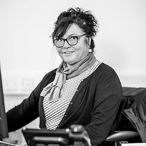 Karen Bryans working in crash services belfast