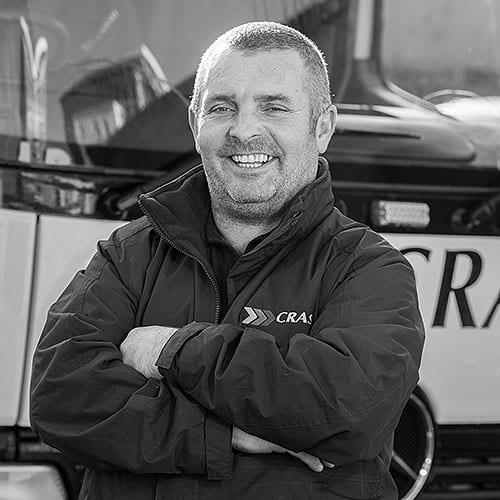 Kieran McEvoy from crash services belfast branch