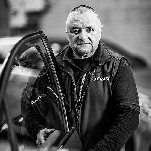 Sammy Martin is part of the team at CRASH Services
