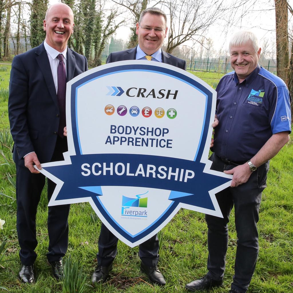 CRASH launch bodyshop apprentice scholarship