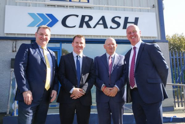 launch of the CRASH Services Derry branch