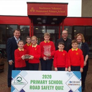 NI PRIMARY SCHOOL ROAD SAFETY QUIZ 2020 LAUNCHED SPONSORED BY CRASH SERVICES