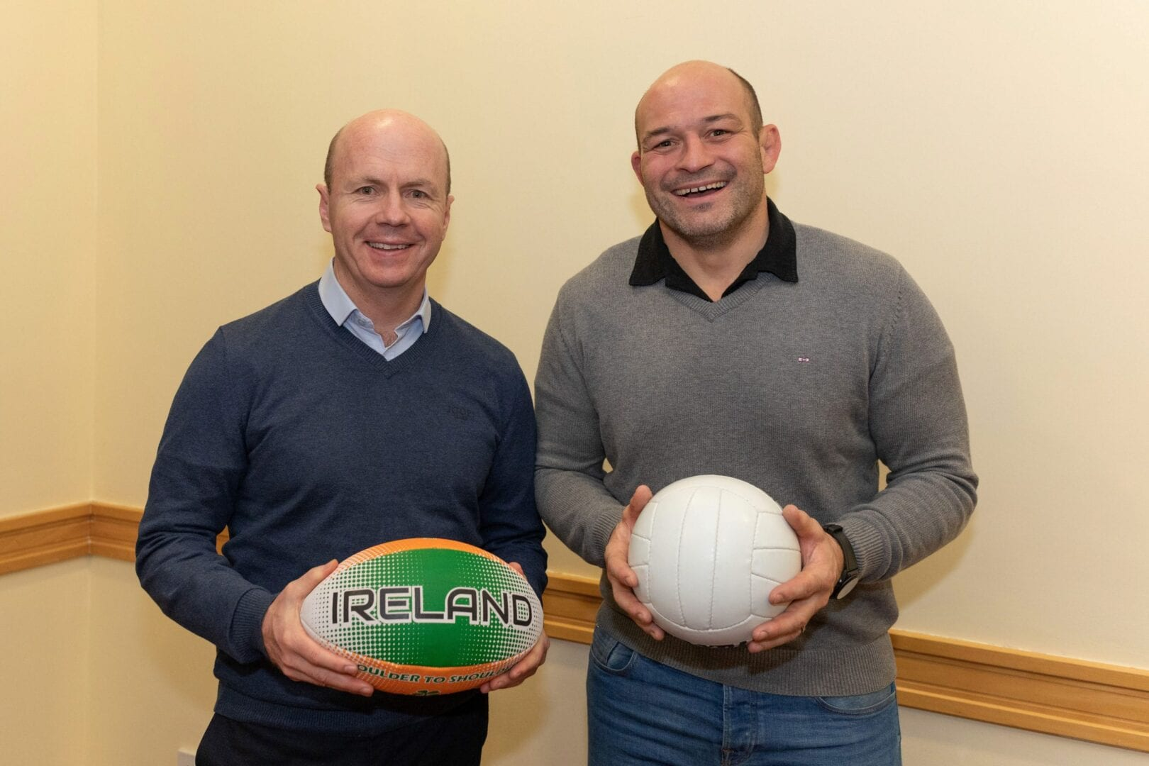 An Evening of 2 Halves Peter Canavan and Rory Best