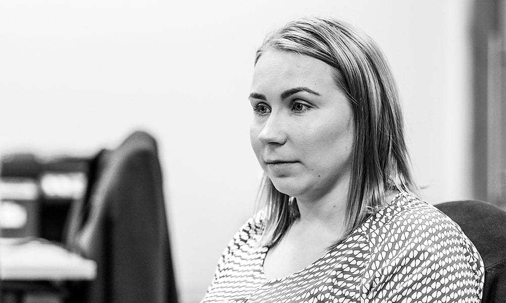 Anna Johnston claims handler