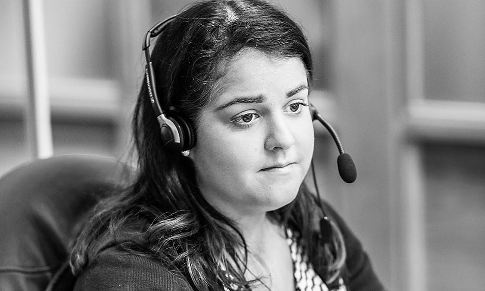 Siobhan McCartan claims/receptionist at CRASH Services