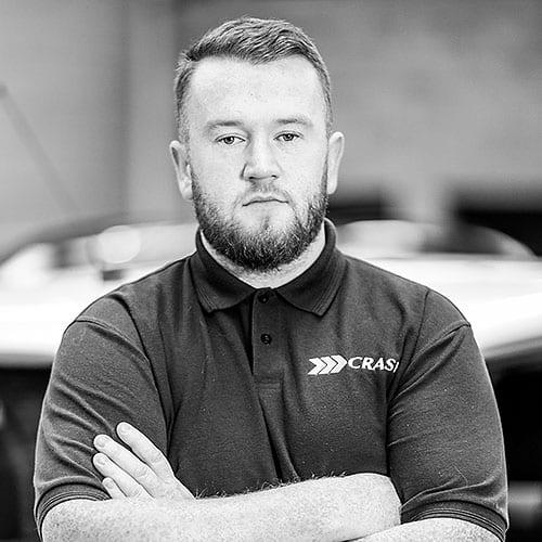 Karl Hamilton CRASH Services team in Belfast