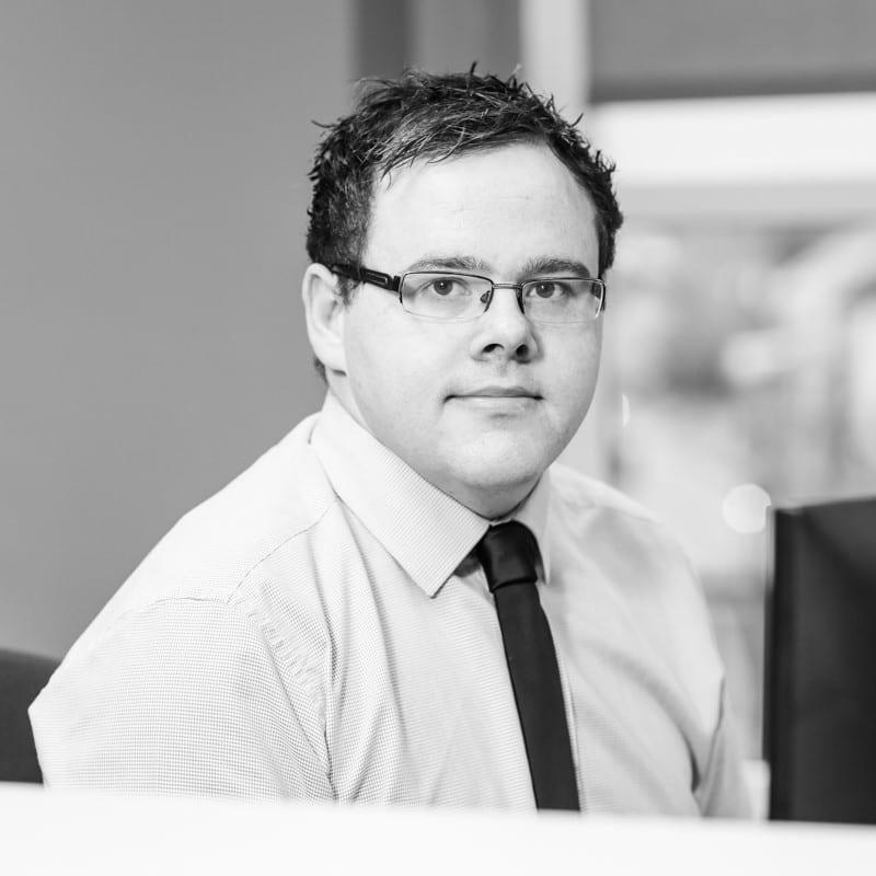 Paul O'Hare financial controller at CRASH Services