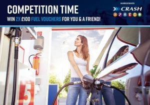 2 x £100 Fuel Vouchers for you and a friend