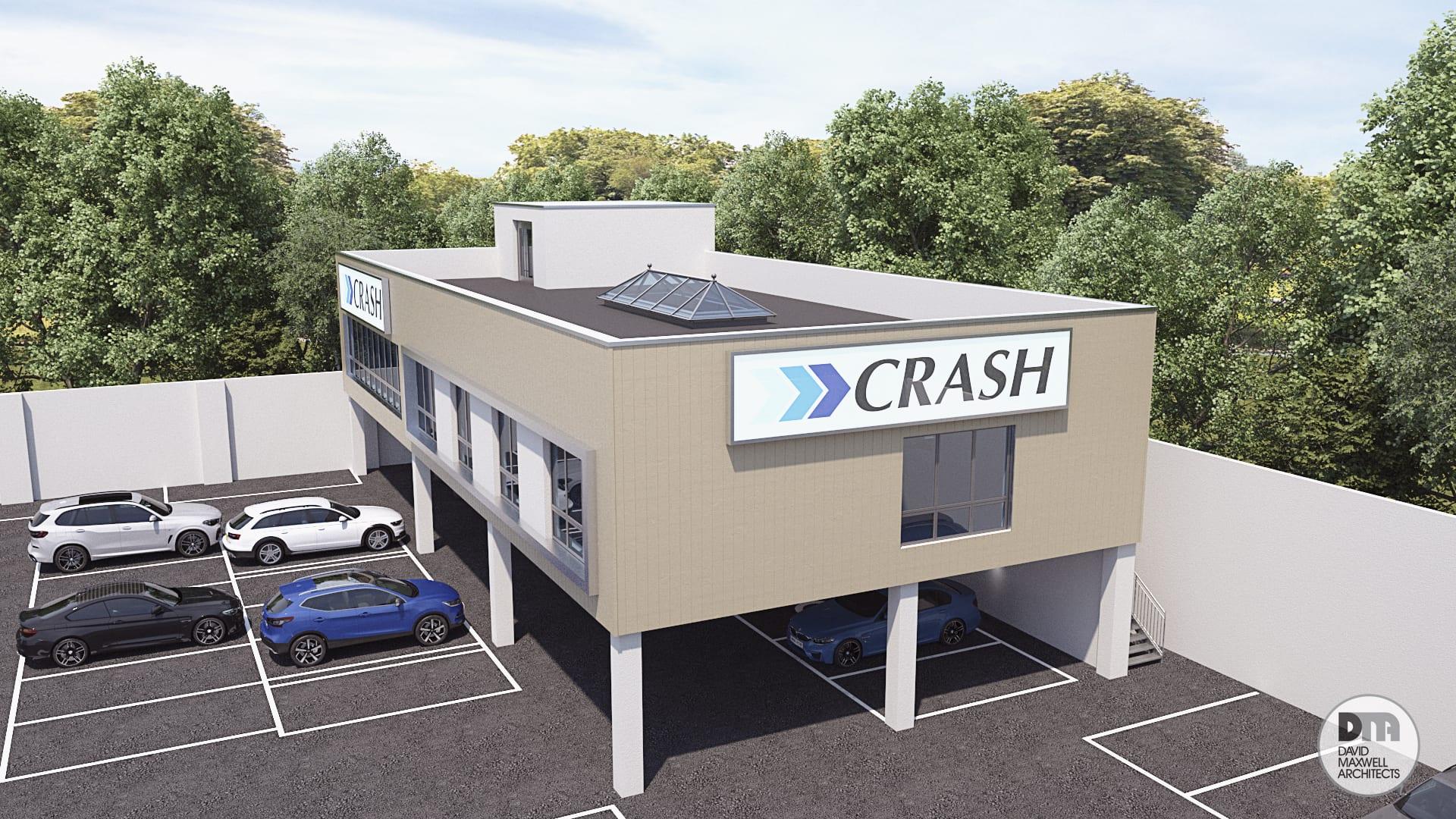 Stockmans Lane CRASH Services building plans