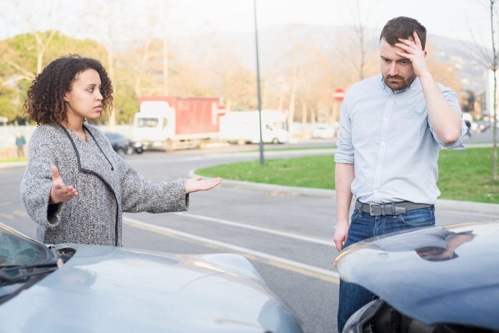 involved in a car accident?