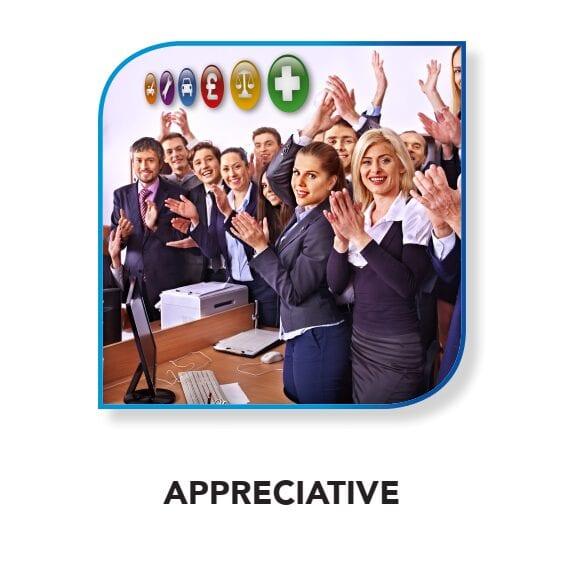 CRASH Services core value - Appreciative