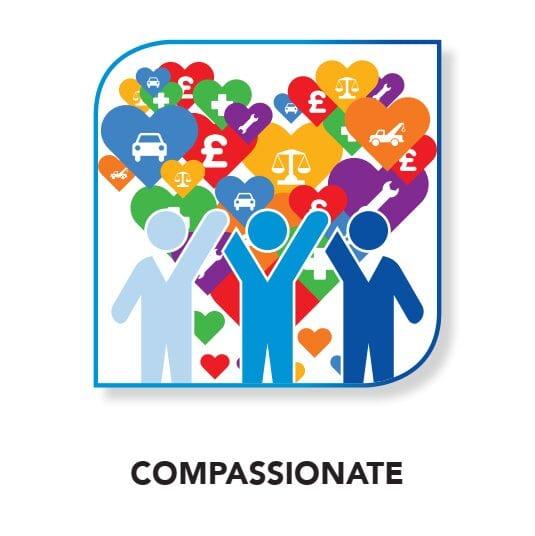 CRASH Services core value - Compassionate