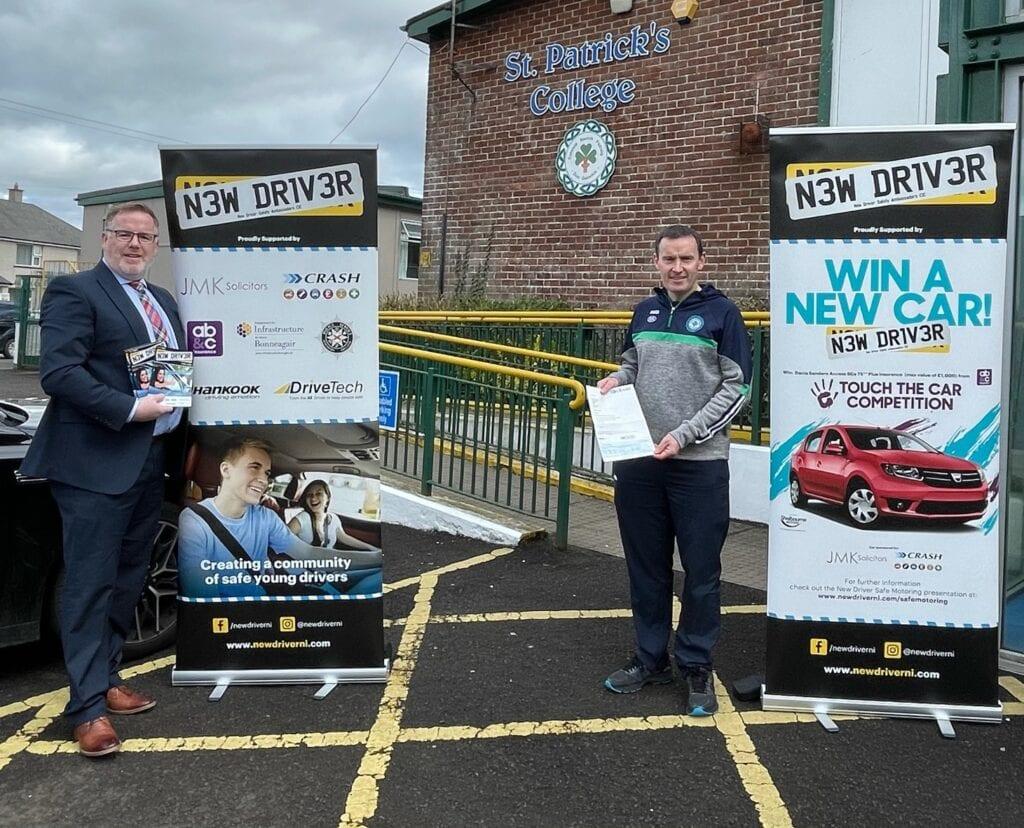 CRASH Sponsor New Driver NI Car giveaway