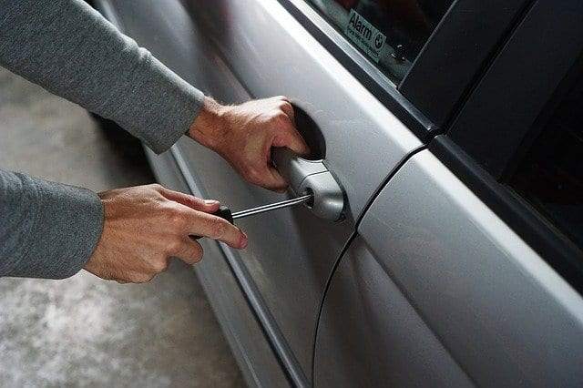 car theft in the uk