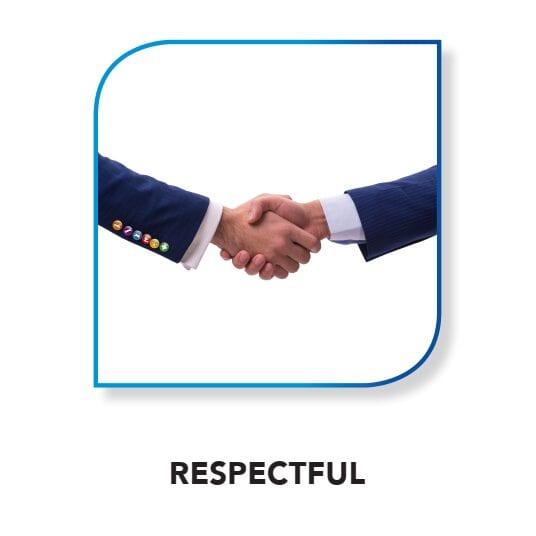 CRASH Services core value - respectful