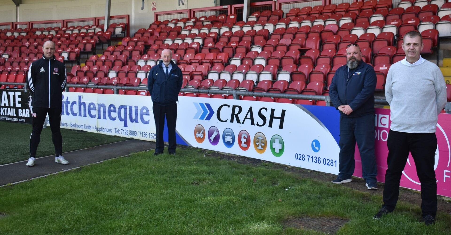 CRASH Services sponsor Derry City F.C.