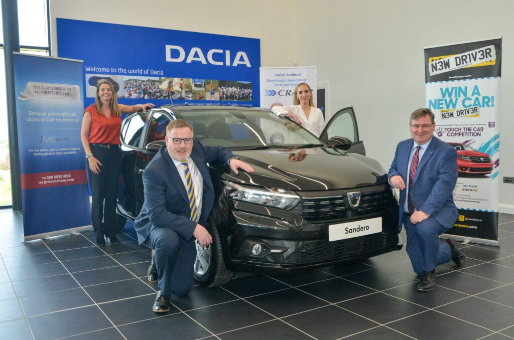 CRASH Services sponsor new driver ni touch the car competition